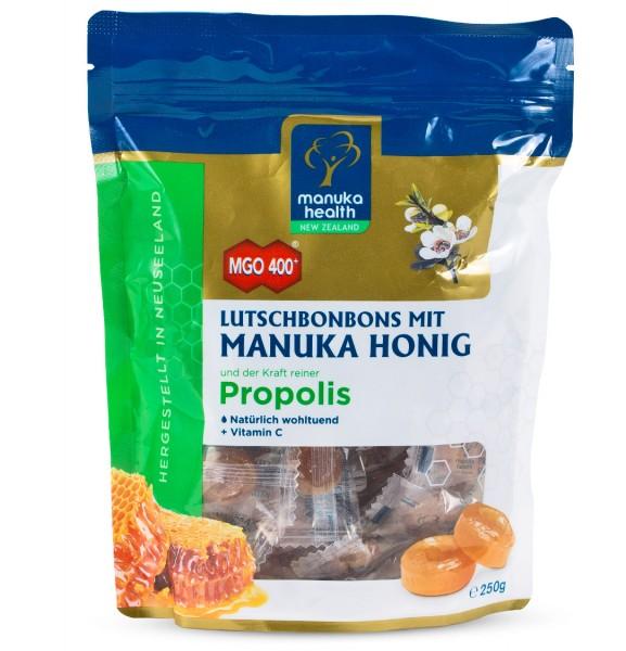 Manuka Health Lutschbonbons mit Propolis und Manuka Honig MGO 400+ 250 g