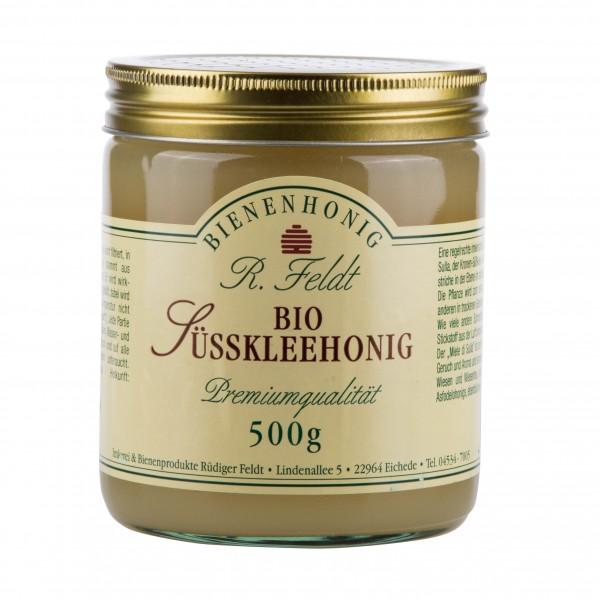 Rüdiger Feldt Bio Süßkleehonig  500 g