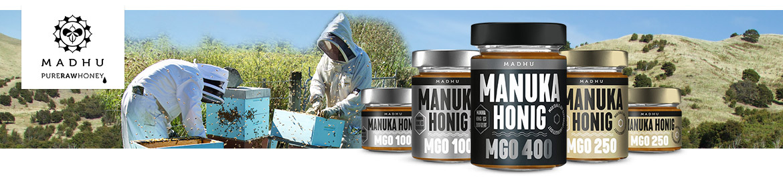 Madhu Honig - Madhu Honey - Manuka Honig im Glas
