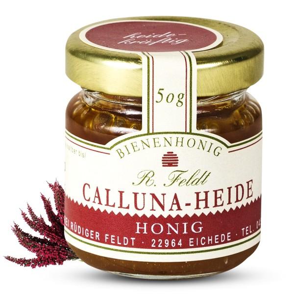 Rüdiger Feldt - Callunaheidehonig - Callunaheide Honig 50g