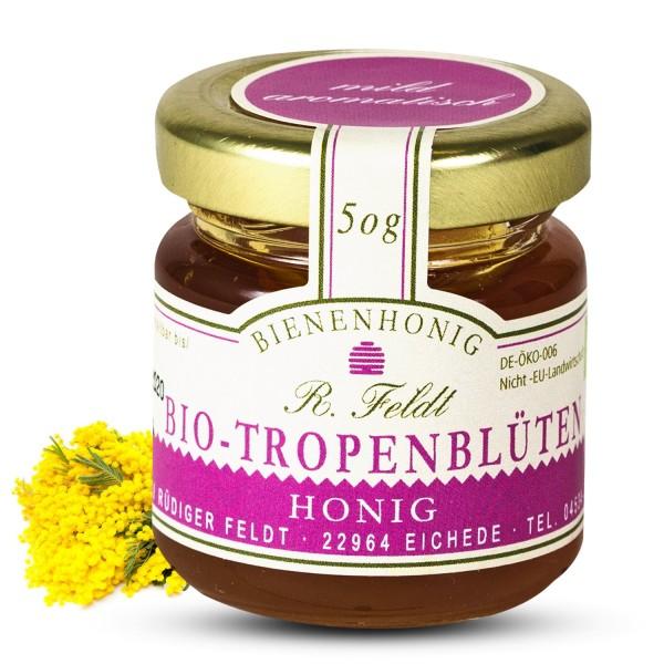 Rüdiger Feldt - Bio Tropenblütenhonig 50g - Bio Tropenblüten Honig 50g