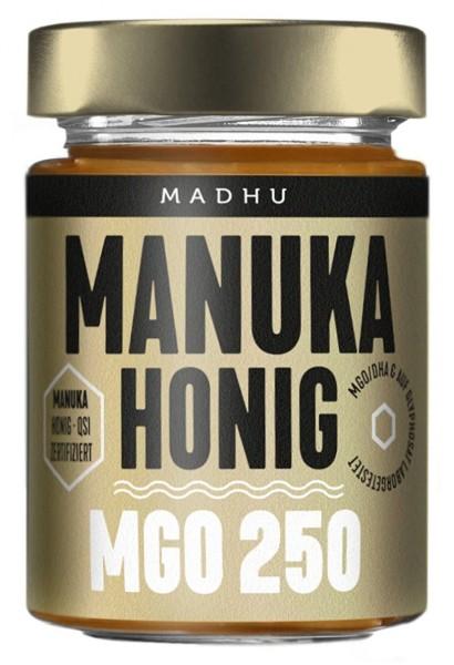 Madhu Manuka Honig MGO 250+ 250 g