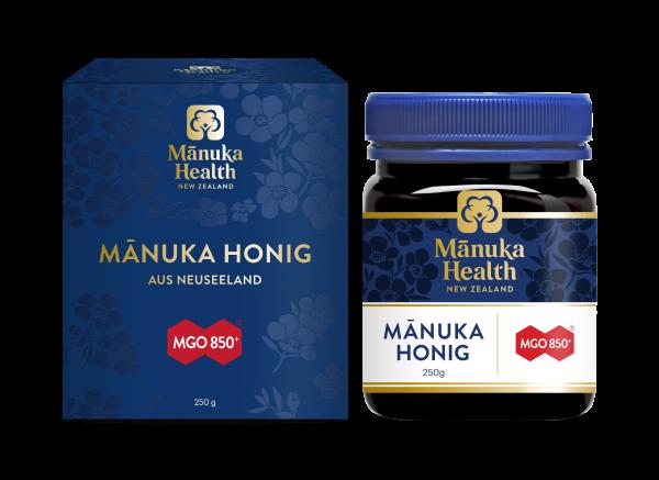 Manuka Health Manuka Honig MGO 850+ 250g - stärkster Honig