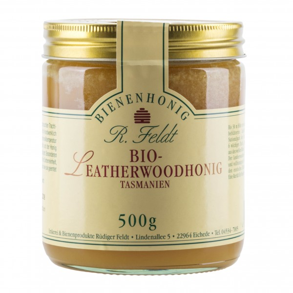 Rüdiger Feldt Bio Leatherwoodhonig 500g