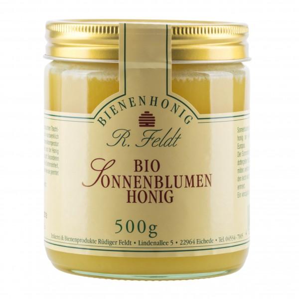 Rüdiger Feldt Bio Sonnenblumenhonig 500g