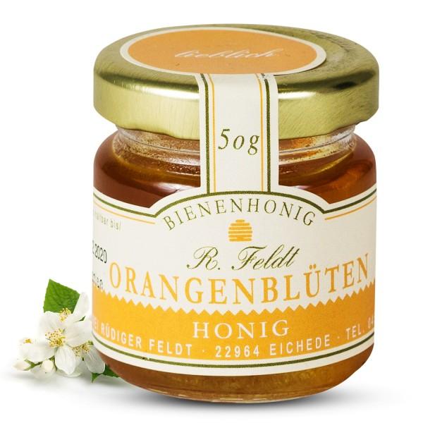 Rüdiger Feldt - Orangenblütenhonig 50g - Orangenblüten Honig 50g