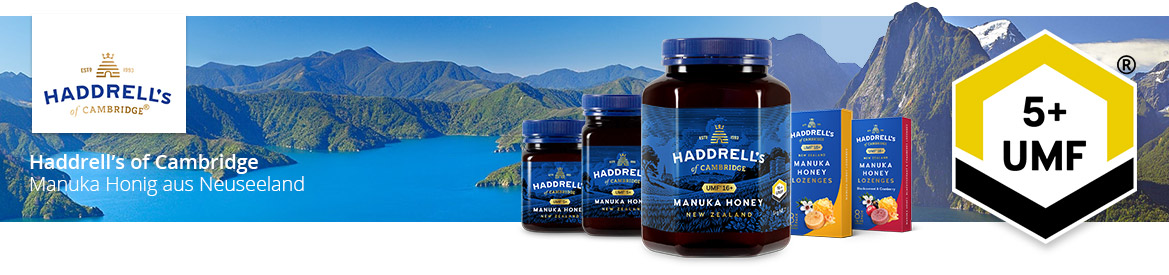 Haddrells of Cambridge Manuka Honig