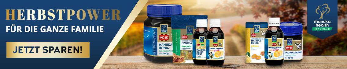 Manuka Health, Manuka Honig MGO 400+, Manuka Honig kaufen, Manuka Honig Anwendungen, Manuka Honig aus Neuseeland