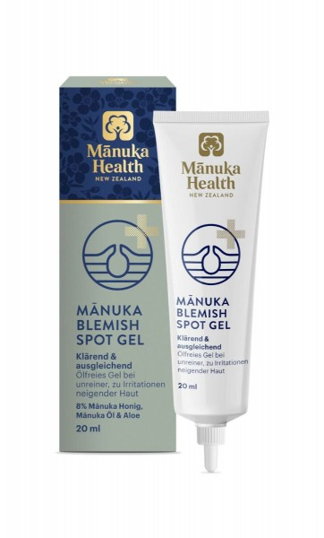 Manuka Health Manuka Blemish Spot Gel 20ml für ein natürlich verbessertes Hautbild