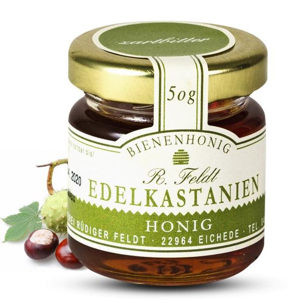 Rüdiger Feldt - Edelkastanienhonig 50g -  Edelkastanien Honig 50g