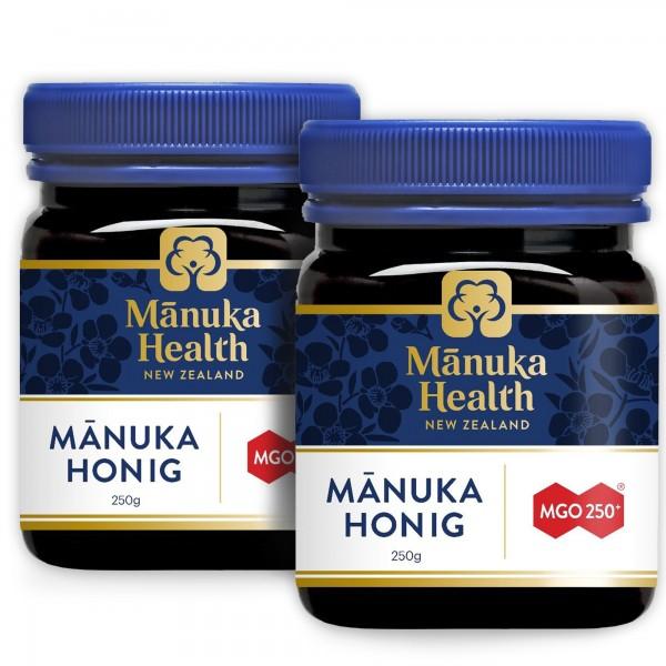 Manuka Health Manuka Honig MGO 250+ 250g  Doppelpack