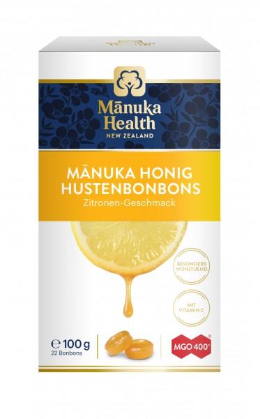 Manuka Health Lutschbonbons Zitrone und Manuka Honig MGO 400+ 100 g