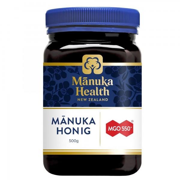 Manuka Health Manuka Honig MGO 550+ 500g